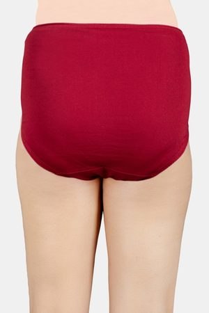 Adira Pack Of 3 Maternity Hygiene Panties Maroon
