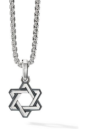 David Yurman Men Necklaces - Deco Star of David Sterling Pendant