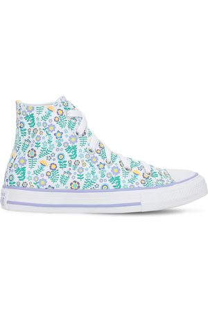 adidas Flower Print Chuck Taylor Sneakers