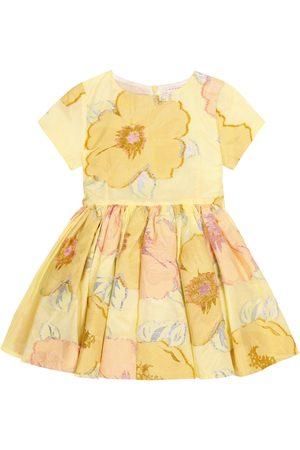 adidas Jelsa embroidered cotton-blend dress