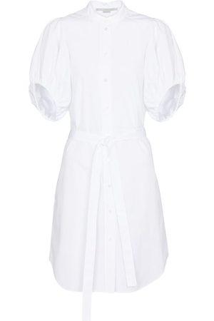 adidas Women Casual Dresses - Anastasia cotton shirt minidress