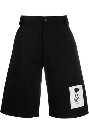 adidas Logo-patch denim shorts