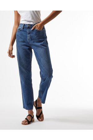 Miss Selfridge Women Slim - High-waist slim leg jean in indigo wash