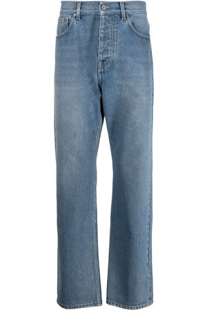 adidas Men Straight - Arkade high-rise straight-leg jeans