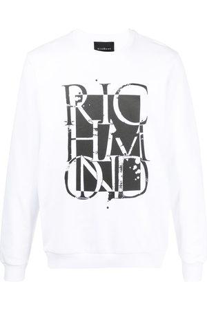 adidas Men Sweatshirts - Logo-print cotton sweatshirt