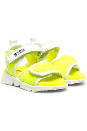 adidas Chunky logo-print sandals
