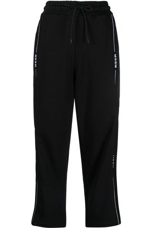 adidas Logo trim cropped track pants