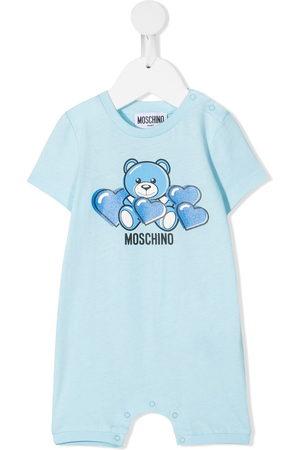 adidas Bear-motif cotton romper