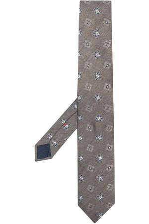 Lady Anne Embroidered motif tie