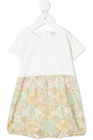 adidas Girls Playsuits - Floral panel playsuit