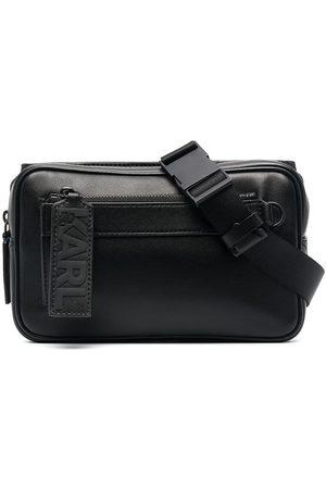 adidas Men Belts - K/Karl leather belt bag