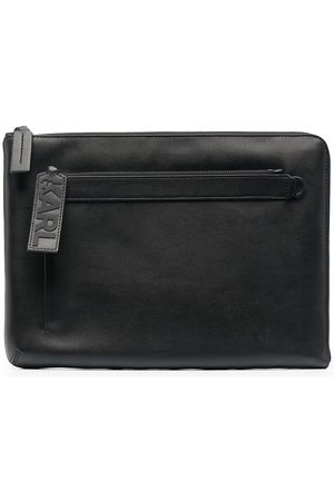 Karl Lagerfeld K/Karl pouch clutch