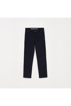 adidas Boys Solid Skinny Fit Casual Trousers