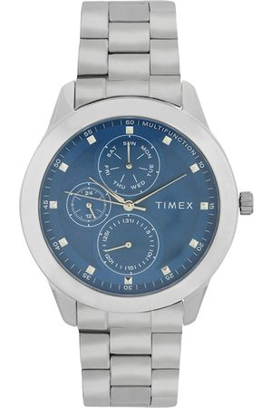 adidas Men Blue & Silver-Toned Analogue Watch TWEG18503