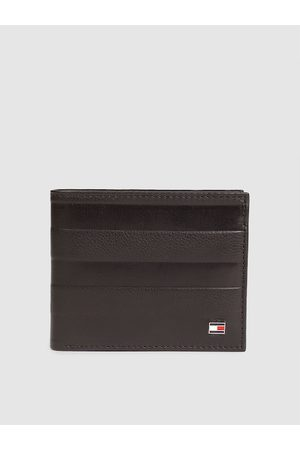 adidas Men Brown Textured Two Fold Leather Wallet