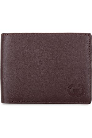 adidas Men Brown Solid Two Fold Leather Wallet
