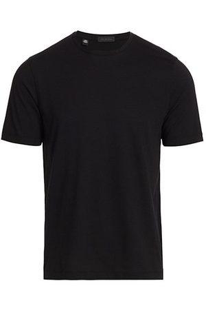 Saks Fifth Avenue Men Short Sleeve - COLLECTION Solid Crewneck T-Shirt