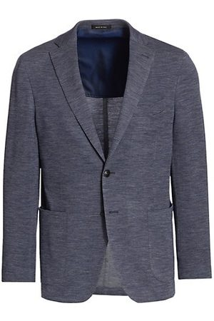 Saks Fifth Avenue Men COLLECTION Heathered Knit Sportcoat