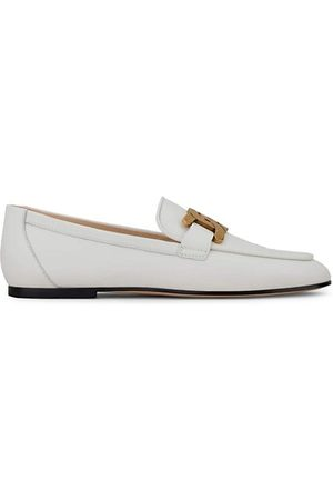 Tod's Loafers - Kate Almond-Toe Leather Loafers