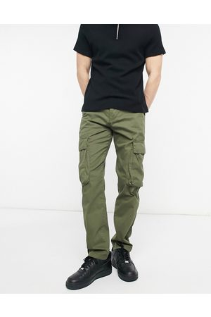 French Connection Utility cargo trouser in black