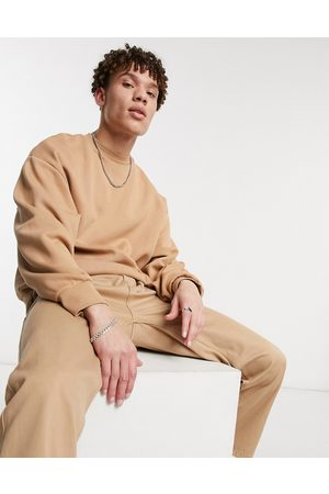 River Island Oversized sweat in camel