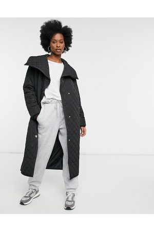 River Island Fallaway quilted coat in