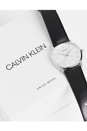 Calvin Klein Strap watch with silver dial