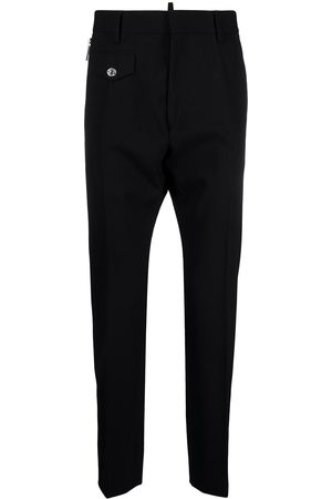Dsquared2 Straight-leg wool trousers