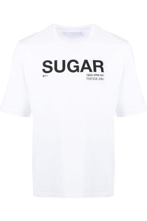 Neil Barrett Men Short Sleeve - Sugar cotton T-shirt