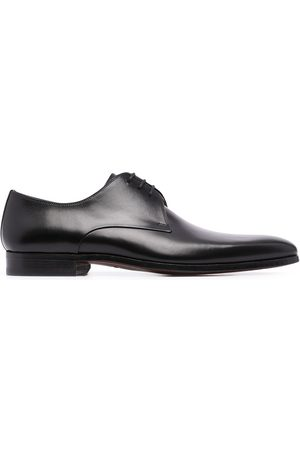 Magnanni Negro leather oxford shoes