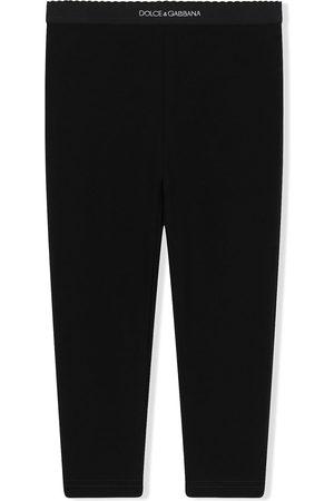 Dolce & Gabbana Logo waistband leggings