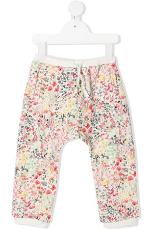 BONPOINT Trousers - Floral print trousers