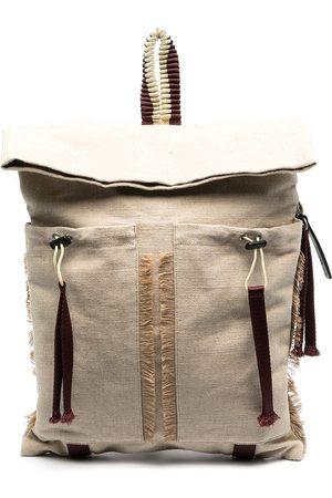 Camper Lab Large fringed trim backpack