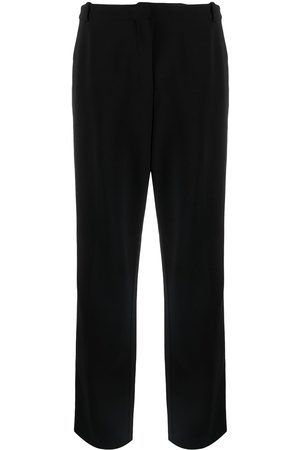 Hermès Pre-owned straight-leg wool trousers