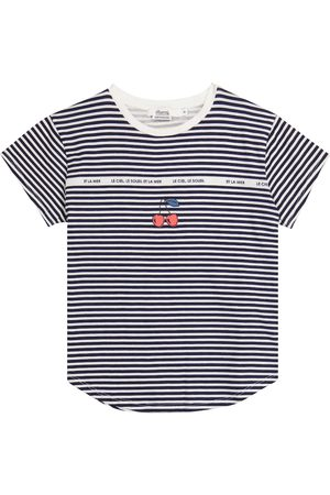 BONPOINT Striped cotton T-shirt
