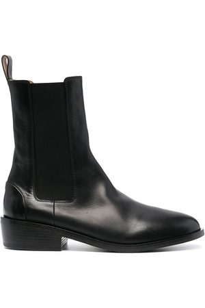 MARSÈLL Leather Chelsea boots