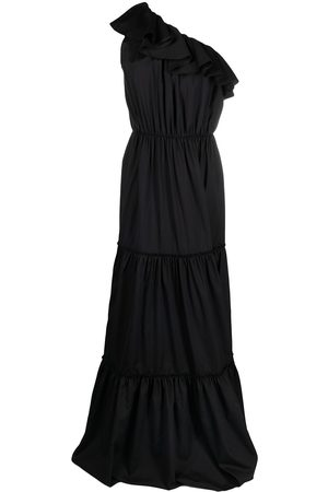 FEDERICA TOSI One-shoulder tiered evening dress