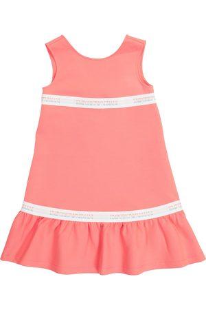 Emporio Armani Logo cotton-blend dress