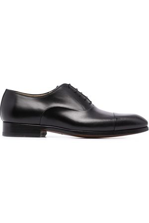Magnanni Men Footwear - Negro leather oxford shoes