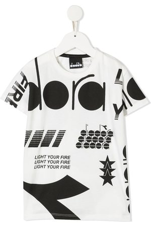 Diadora Boys Short Sleeve - Graphic-print T-shirt