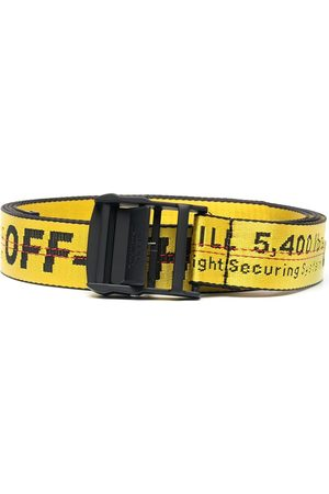 OFF-WHITE Jacquard logo Industrial belt