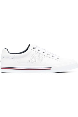 Tommy Hilfiger Men Sneakers - Stripe-detail lace-up trainers