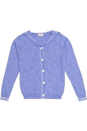 MORLEY Girls Cardigans - Cotton-blend cardigan