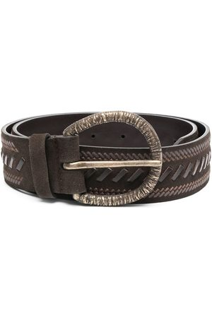 Alberta Ferretti Braided detail belt