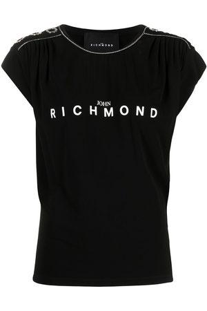 John Richmond Logo-print short-sleeved T-shirt