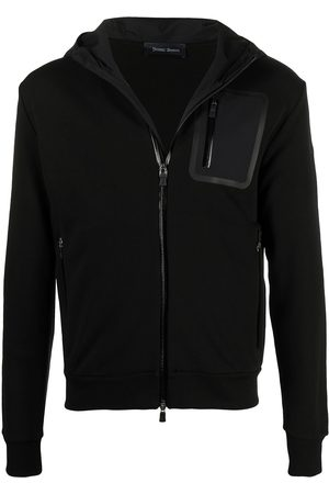 HERNO Cotton zip-up hoodie