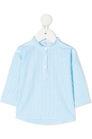 SIOLA Stripe-pattern buttoned shirt