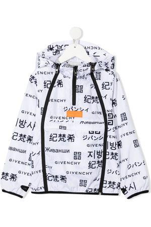 Givenchy Logo-print hooded jacket