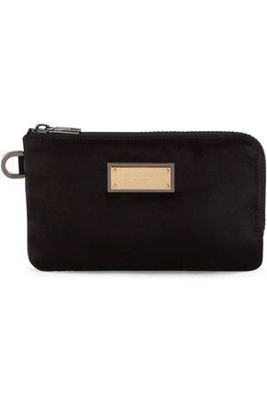 Dolce & Gabbana Men Wallets - Nylon logo plaque pouch