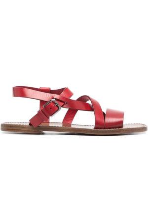 Silvano Sassetti Cross straps sandals